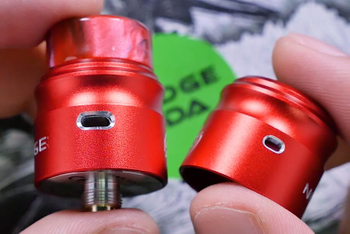 Nudge 22mm from Wotofo -- Two Atomizer Covers in a RDA?