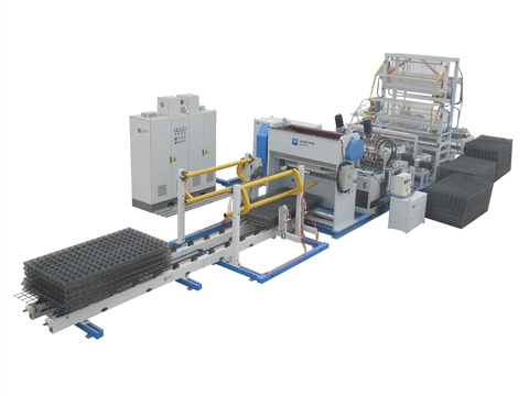Working principle of reinforced mesh welded wire mesh machine