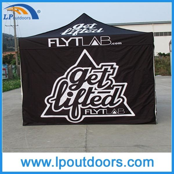10X10' Hot Sale Half Sidewall Display Folding Canopy Outdoor Tent