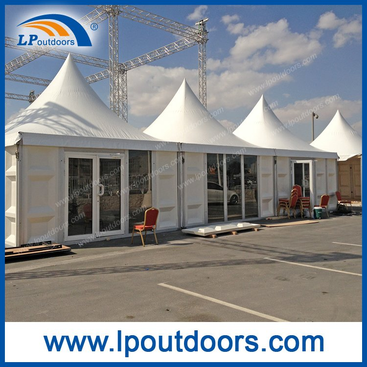 Outdoor Luxury Wedding Marquee Pagoda Tent with ABS Wall for Sale