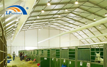 What Kinds Of Outdoors Polygon Roof Tent Is Suitable For Horse Racing Activity