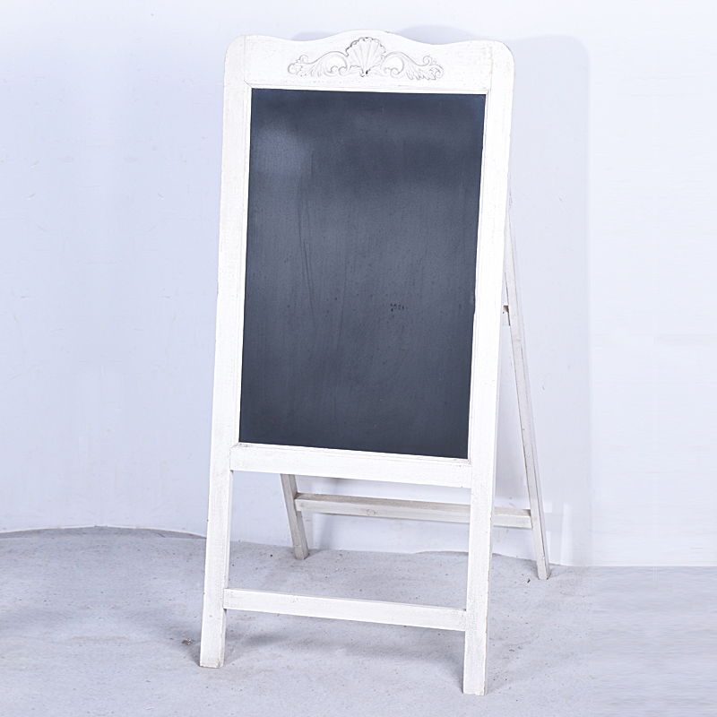 wholesale Wood A Standing Folding Shabby Chic Framed Chalkboard ...