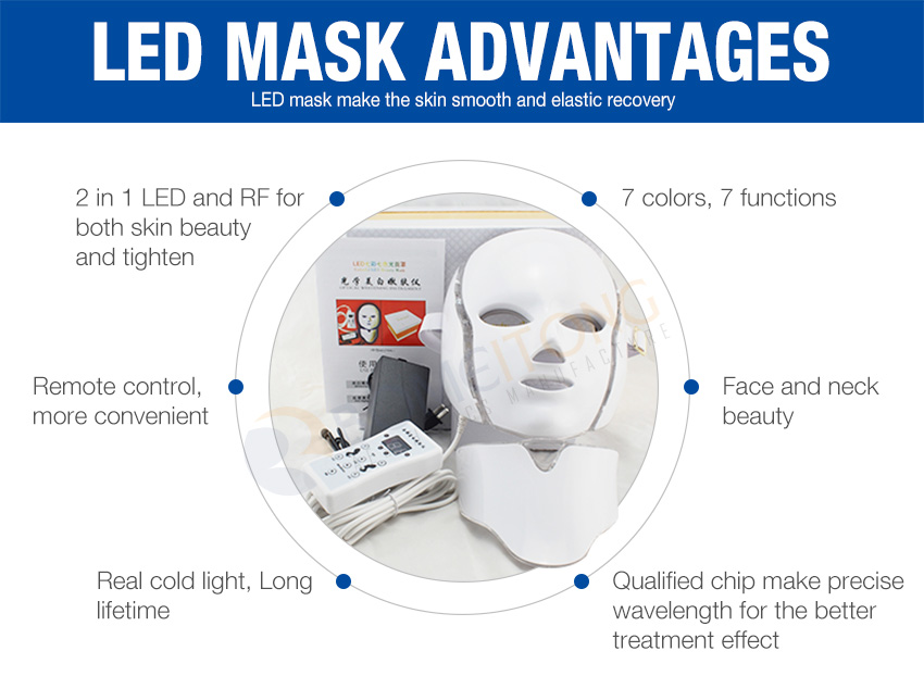 led light therapy mask advantage