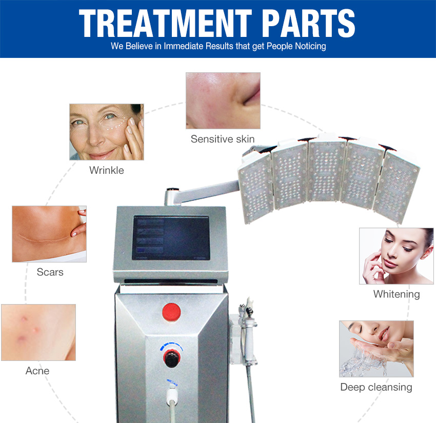 oxygen jet peel machine treatment parts