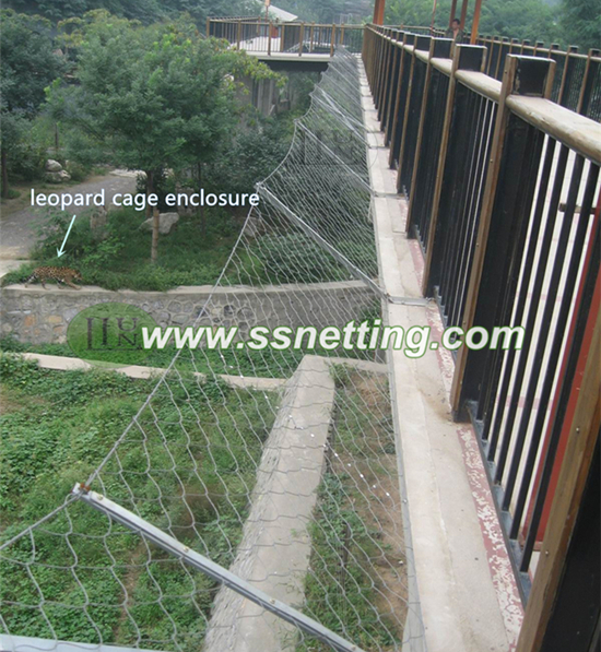 Animal cage safety mesh,stainless steel wire rope soft mesh,wire ...