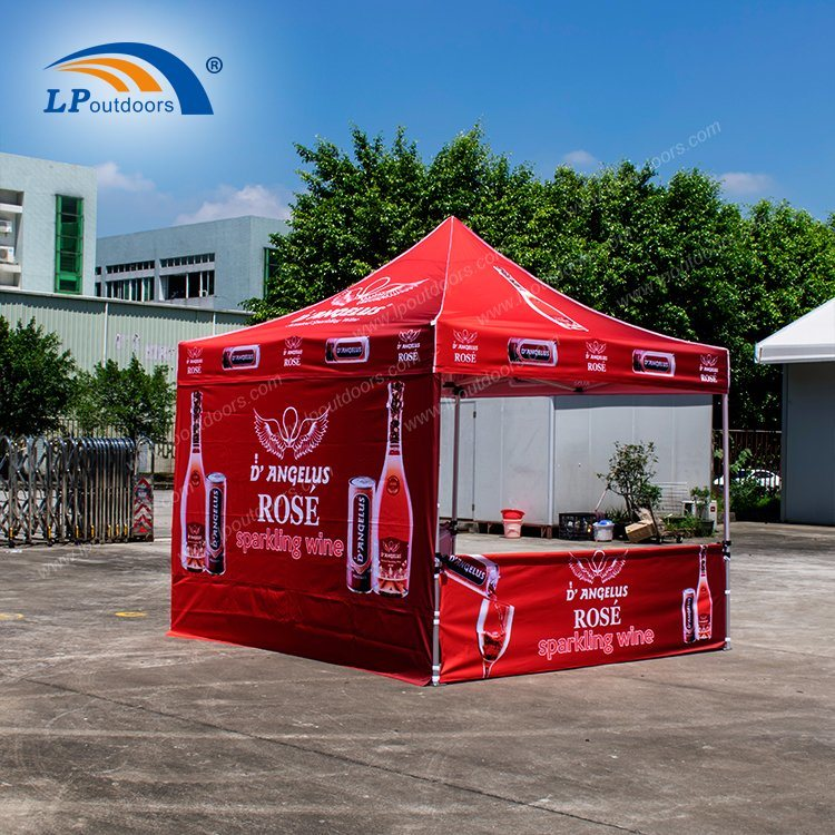 10X10' Folding Tent Ez up Canopy for Advertising