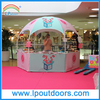3m Outdoor Hexagon Dome Kiosk Tent For Trade Show
