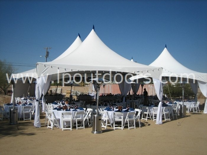 20'x20' High Peak Outdoor Frame Tent Garden Gazebo