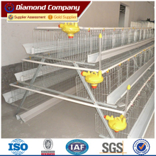 Nigeria farm of egg layer chicken cage with 4 tiers