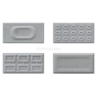 Grey color glaze tile Subway tile 100*200mm