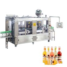 Full Automatic Glass Bottle Crown Caps Beer Filling and Capping Machine