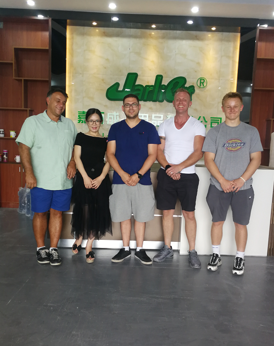 United Kingdom Customers Visited Jarliet Factory