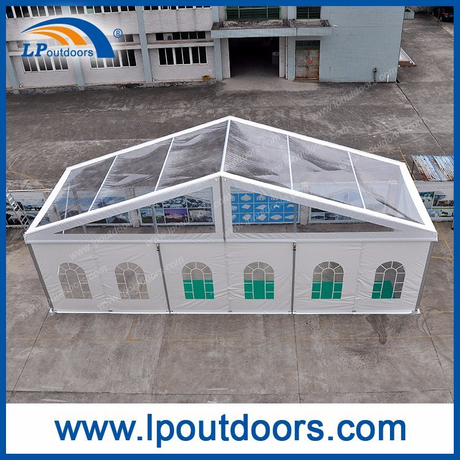 500 Seater Clear Transparency Roof Outdoor Marquee Tent