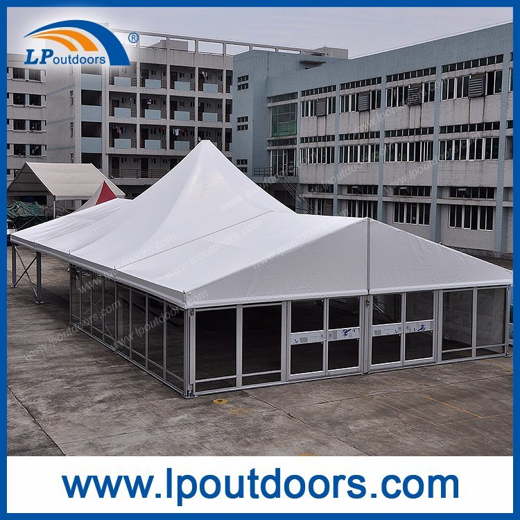 New Style Outdoor Luxury Glass Wall Party Marquee Tent for Wedding