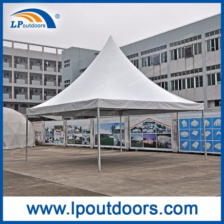 6x6m Outdoor white PVC Pagoda Gazebo tent for wedding event