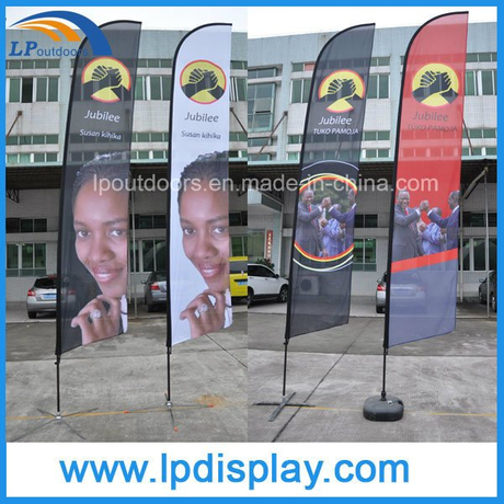 Custom Flag Printing Feather Advertising Banners for Outdoor