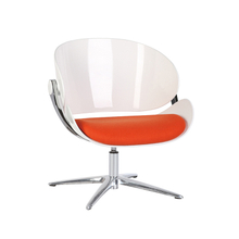 Fashionable Public Leisure Sofa Seating Shell Egg Chair With Cushion