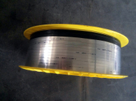 Preformed Flat /V-Shape metallic tape for spiral wound gasket SWG, cold rolled stainless steel strip for Sealing gasket