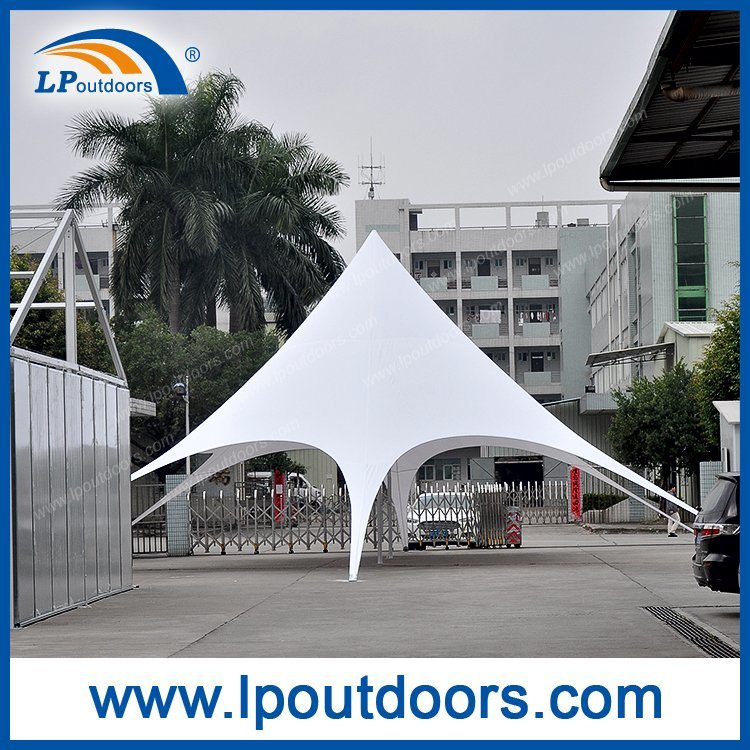 16X21m Big Outdoor Wedding Shelter Beach Star Tent for Shading