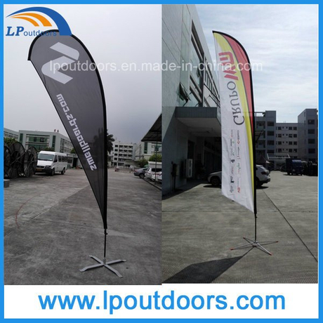 Advertising Teardrop Flags Flying Banners for Outdoor Event