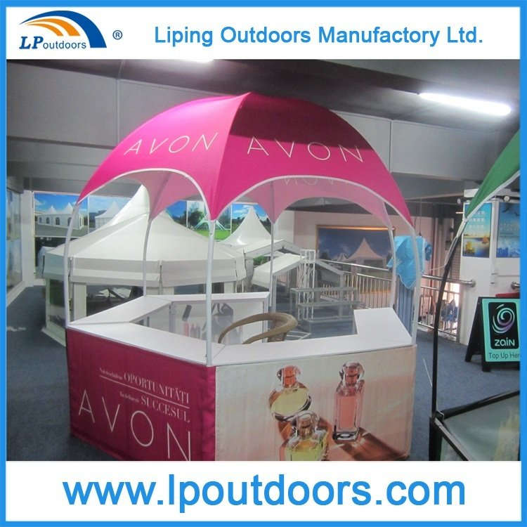 Foldable Trade Show Booth Display Dome Kiosk Advertising Tent Canopy