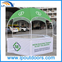 Dia 3m Advertising Printing Hexagonal Dome Tent For Exhibition