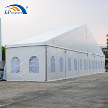 China Manufacture Customized 30x35m Aluminum Outdoor Party Tent With Transparent Window