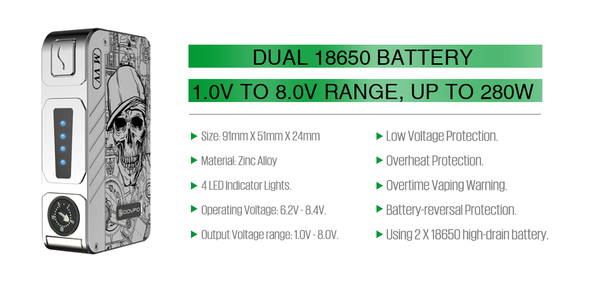 m vv specifications