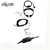 Chierda CD-8S5B Throat Vibration Type Microphone Two Way Radio Earpiece