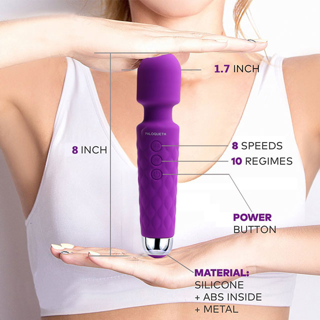 Paloqueth Cordless Wand Massager