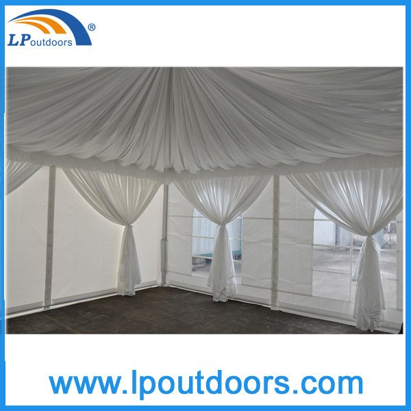 5X5m Luxury Glass Door Aluminum Hotel Tent
