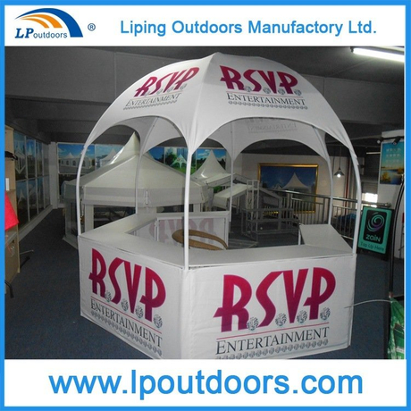 Dia3m Multifunctional Trade Show Display Dome Kiosk Tent