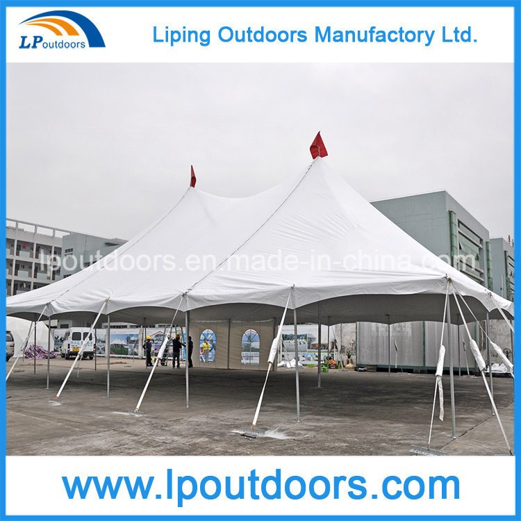 2017 New Centre Cheap Beautiful Pole Tent