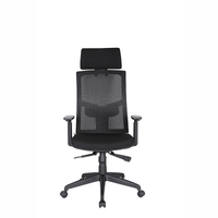 KB-8922A-Y Mesh High Back Office Chair Computer Desk Task Executive with Headrest Ergonomic