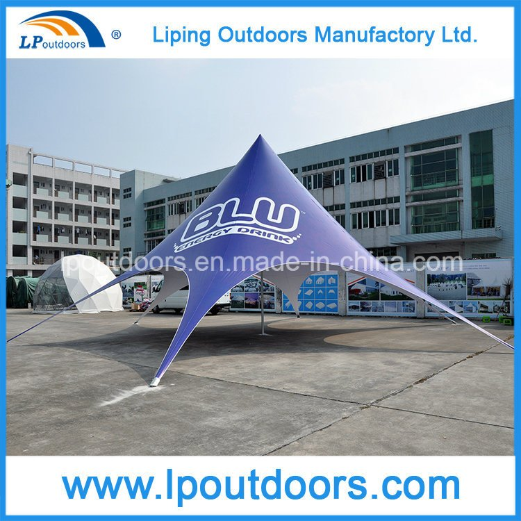 Dia16m Outdoor Logo Imprint Advertising Display Spider Tent
