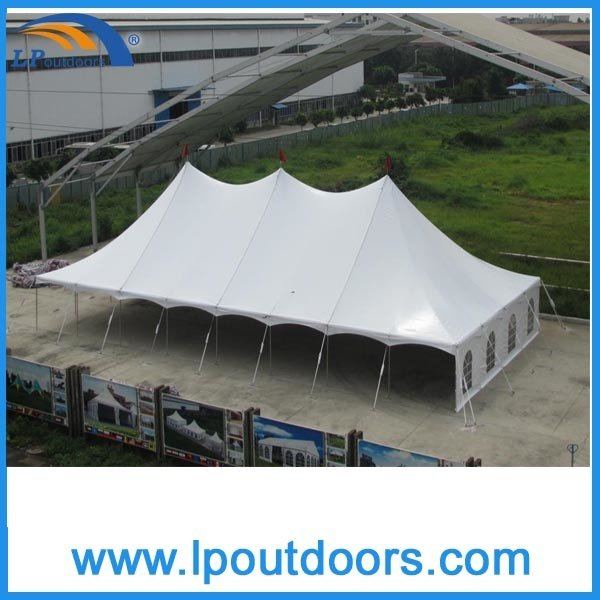 40X120' High Quality Steel Frame Wedding Marquee Peg Pole Tent for Sale