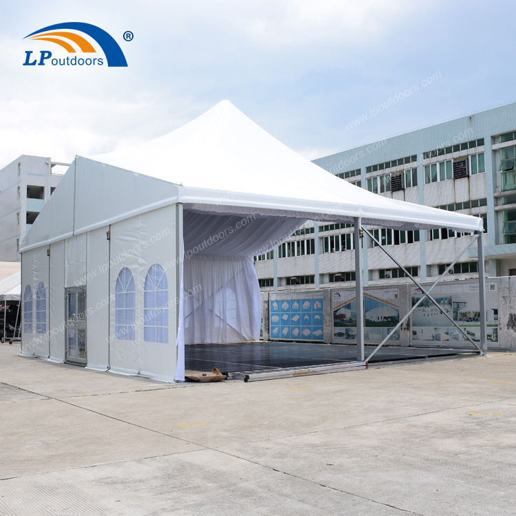 Luxury Mixed High Peak Tent with Lining For Outdoor Event (6)