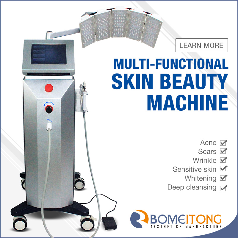 Oxygen Jet Peel Machine with Bio Microcurrent And PDT SPA19