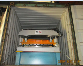 Delivery Of High Speed R101 Lamina Roof Panel Roll Forming Machine To Mexico On December 30,2018