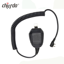 Chierda D74-K Super Quality Amateur Walkie Talkie Speaker Microphone Heaset for Chierda Kenwood ,Motorola, ICOM ,YAESU Walkie Talkie