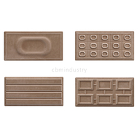 Coffee color glaze tile Subway tile 100*200mm