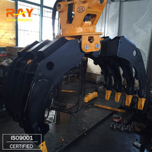 RHG04 Stone grapple For 6-8 T Excavator