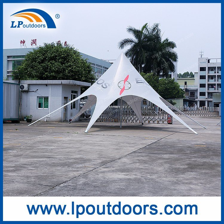 Dia 12m Display Star Shade Tent For Exhibition