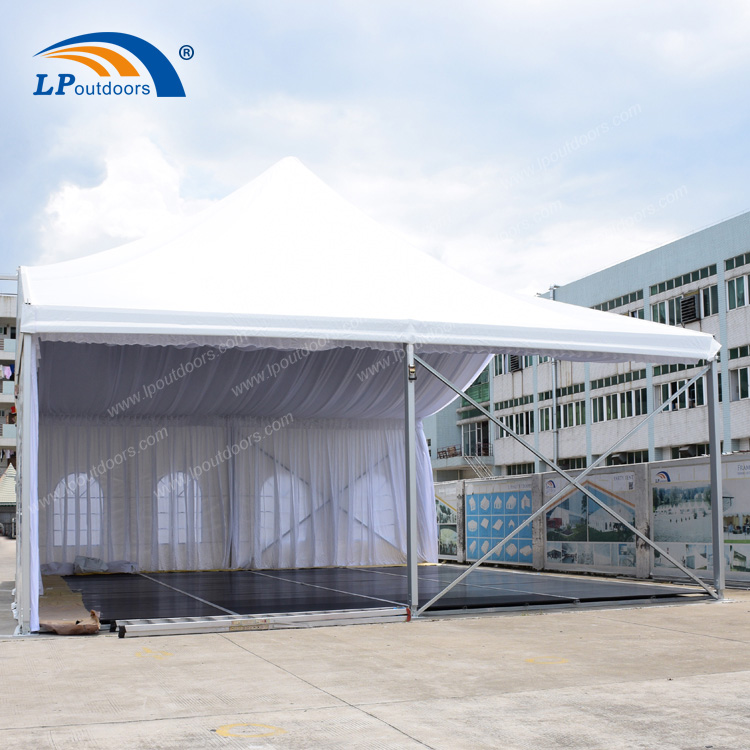 Luxury Mixed High Peak Tent with Lining For Outdoor Event (5)