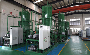 02 4 Sets of TBEA Xinjiang ± 1100KV Oil Purifier at our workshop