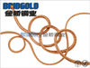 BGTSR(X)F Type Flexible Copper Stranded Wires for Electric Brush Square Type: Single Wire Diameter: 0.05mm (AWG44)
