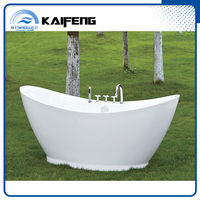 Good Design Free Standing Tub with Faucet