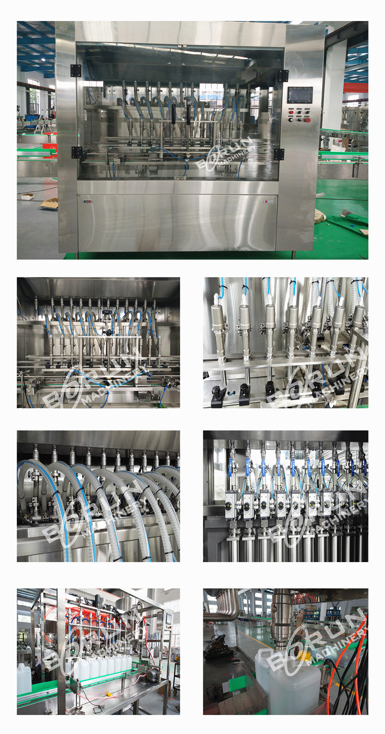 viscous liquid bottle filling machine