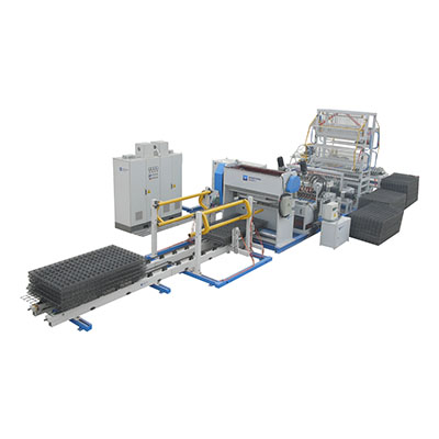 China Full automatic reinforcing mesh production line