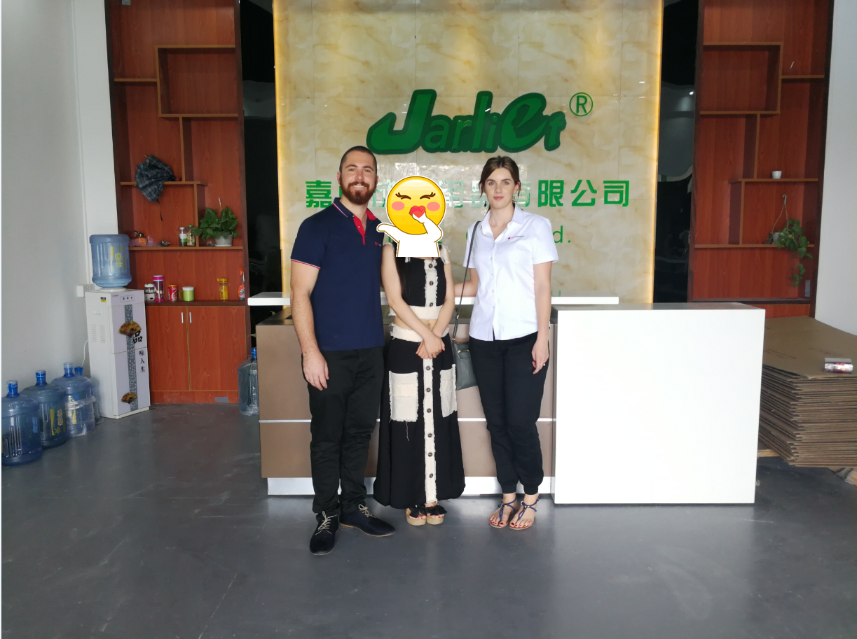 Australian Customer Visited Jarliet Factory